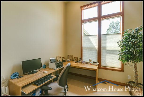 Home office, 1430 Eastwood Way, Lynden, WA. © 2016 Mark Turner