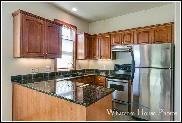 In-law suite kitchen, 1430 Eastwood Way, Lynden, WA. © 2016 Mark Turner