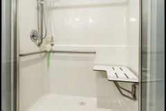 Accessible bathroom, 1430 Eastwood Way, Lynden, WA. © 2016 Mark Turner