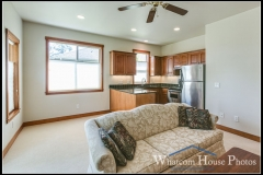 In-law suite living area, 1430 Eastwood Way, Lynden, WA. © 2016 Mark Turner