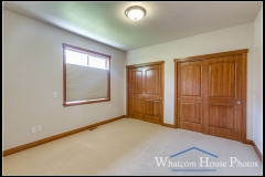 In-law suite bedroom, 1430 Eastwood Way, Lynden, WA. © 2016 Mark Turner