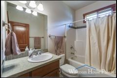 In-law suite bathroom, 1430 Eastwood Way, Lynden, WA. © 2016 Mark Turner