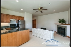 In-law suite kitchen & living area, 1430 Eastwood Way, Lynden, WA. © 2016 Mark Turner