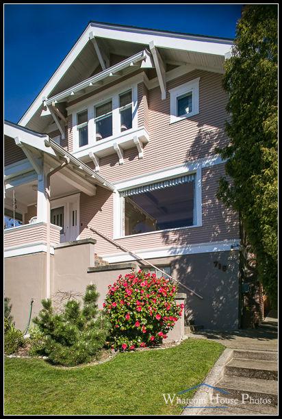 Front exterior, 715 15th Street, Bellingham, WA. © 2016 Mark Turner