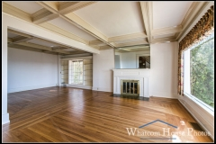 Living room, 715 15th Street, Bellingham, WA. © 2016 Mark Turner