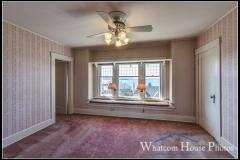 Front bedroom, 715 15th Street, Bellingham, WA. © 2016 Mark Turner