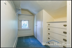 South bedroom walk-in closet, 715 15th Street, Bellingham, WA. © 2016 Mark Turner