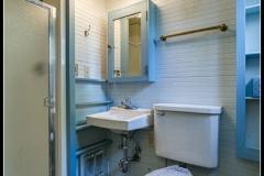 Basement bathroom, 715 15th Street, Bellingham, WA. © 2016 Mark Turner