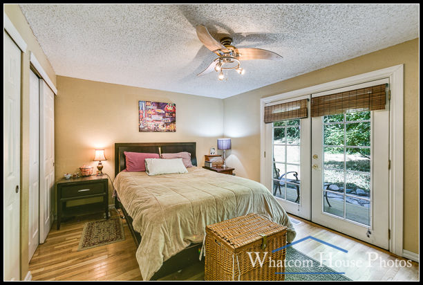 Master bedroom, 2618 Erie St., Bellingham, WA. © 2016 Mark Turner